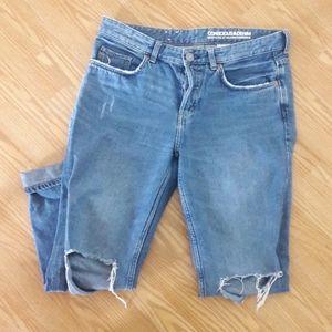 H&M boyfriend low waist jeans